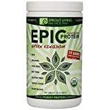 Sprout Living Epic Protein Powder, Green Kingdom, 1 LB