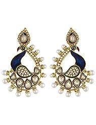 Shining Diva Garishing Antique Hanging Earrings For Women