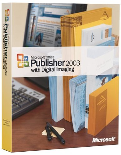 Microsoft Publisher with Digital Imaging 2003 [Old Version]