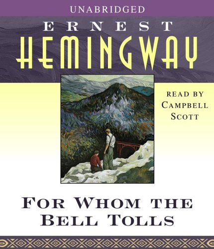 for whom the bell tolls (ernest hemingway) essay Analysis of the themes and artistic features of for whom the  for whom the bell tolls, ernest miller hemingway,  mouthed augstin relationships the essay is.