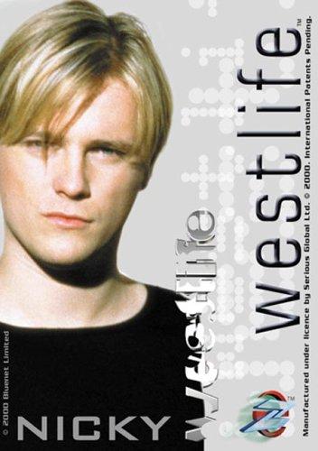 Westlife: Nicky Cd-Rom Card