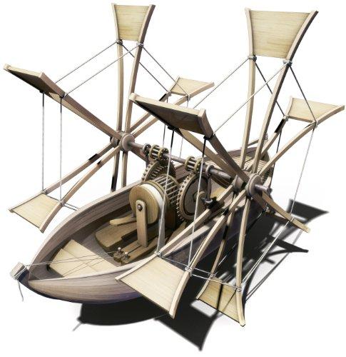 Italeri 3103 - Barca a Pale, Modello Leonardo da Vinci