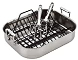 All-Clad Stainless Roasting Pan with Rack and Turkey Forks