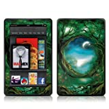 Kindle Fire Skin Kit/Decal - Moon Tree - John E Shannon (does not fit Kindle Fire HD)