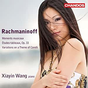 Rachmaninoff: Moments musicaux; Etudes-tableaux, Op. 33; Variations on a Theme of Corelli