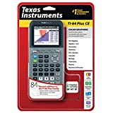 Texas Instruments TI-84 Plus CE Silver Graphing Calculator (Color: Silver)