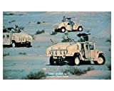 1992 AM General Military Hummer Photo Poster