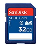 SanDisk 32 GB Class 4 SDHC Flash Memory Card SDSDB-032G-AFFP