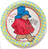 Paddington Bear Party Paper Plates - Dinner (9 In.) Package of 8