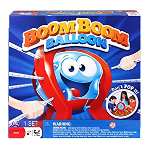 Amazon.com: Spin Master Games - Boom Boom Balloon Board Game: Toys