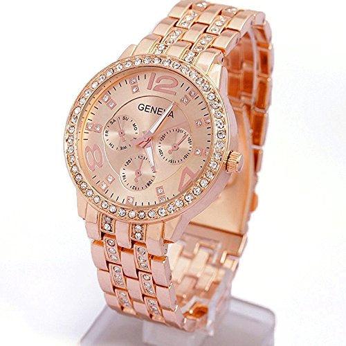 Contever® Lady Geneva Quartz Watch - Fashion