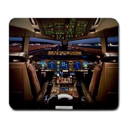 boeing-777-avion-cabina-alfombrilla-de-raton-pad-mousepad