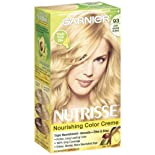 Garnier Nutrisse Permanent Haircolor, Light Golden Blonde 93