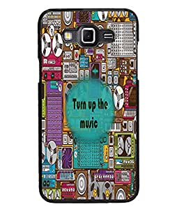 PrintDhaba Quote D-2677 Back Case Cover for SAMSUNG GALAXY GRAND 3 (Multi-Coloured)
