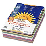 SunWorks Smart-Stack Construction Paper, 9 x 12 Inches, 11 Colors,