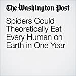 Spiders Could Theoretically Eat Every Human on Earth in One Year | Christopher Ingraham
