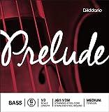 D\'Addario Bowed Corde seule (Sol) pour contrebasse D\'Addario Prelude, manche 1/2, tension Medium