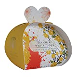 Zinnia And White Cedar Guest Soap 2oz Soap By The English Soap Company