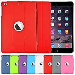 AirPlus AirCase Smart Hardback Protection with Cutout for Apple iPad Mini 3 (Red)