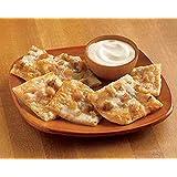Roasted Garlic and Chicken Flatbread Thin Crust Pizza