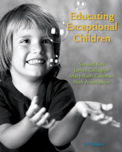 Bundle: Educating Exceptional Children, 13th + Education CourseMate with eBook Printed Access Card