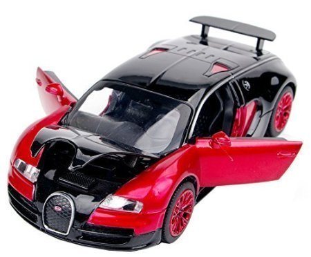 NuoYa001 New style 1:32 Bugatti Veyron Alloy Diecast car model collection light&sound Red (Model A Car compare prices)