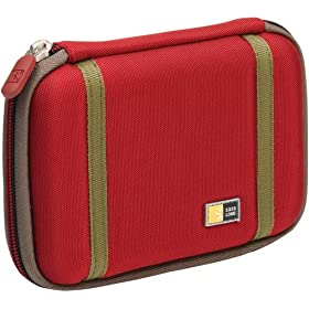 Case Logic PHDC-1 Small EVA External Hard Drive Case (Red)