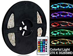 See Generic 270 x 3528SMD Colorful Light Flexible LED Lighting Strip Details