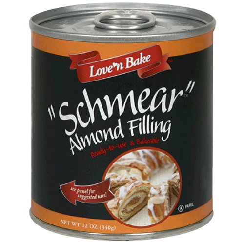 Buy Love 'N Bake Schmear Almond Filling , 12-Ounce Cans (Pack of 6) (Love 'n Bake, Health & Personal Care, Products, Food & Snacks, Baking Supplies, Pie & Cobbler Fillings)