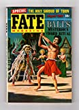 Fate Magazine / August, 1954. Virgil Finlay Cover. Unknown Apes of The Americas (Araguaya Roarer and Ameranthropoides loysi) , Haunted House, Uratua, Visitor from the Future, Premonitions, Psychic Portrait, Shroud of Turin, Time Dimension, Bali Sword Ritual, Witches