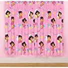 Girls Dora the Explorer Ready Made Curtains Set