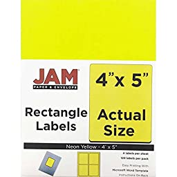 JAM Paper® Labels - Shipping Address Labels - Extra Large (4\