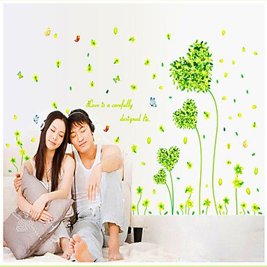 Zclgreen Countryside Pattern Wall Sticker(1Pcs)