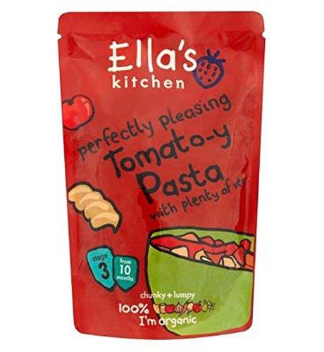 La Cuisine De Ella De Pâtes À La Tomate-Y Parfaitement Agréable Avec Beaucoup De Légumes Stade De 3 Mois À Partir De 10 190G - Lot De 2
