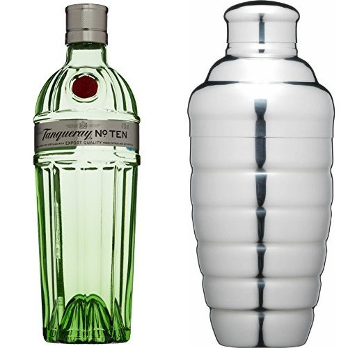 tanqueray-no-ten-gin-and-kitchen-craft-stainless-steel-cocktail-shaker