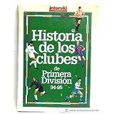 HISTORIA DE LOS CLUBES DE PRIMERA DIVISION 94-95