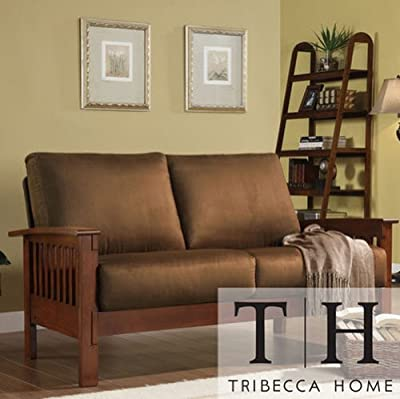 The Couch Is Contemporary Living Room, Office Furniture Featuring Soft, Rust  Colored Microfiber Fabric. Elegant, Comfortable Durable ...
