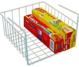 DecoBros Under Shelf Basket Wrap Rack, White (Misc.)