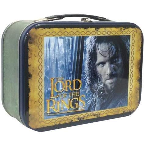 1 X The Hobbit Aragorn Tin Tote