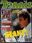 TENNIS MAGAZINE [No 151] du 01/10/198...