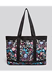 LeSportsac Medium Travel Tote Bag 2208 Crystalized