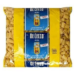 Dececco Rigatoni Mezzi 5 Lb Bag: Amazon.com: Grocery & Gourmet Food