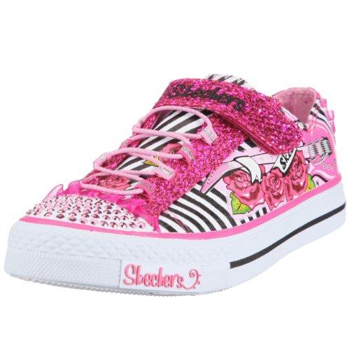 Picture of Skechers Twinkle Toes Shuffles Startastic Sneaker (Toddler/Little Kid/Big Kid) B004R1QDMW (Skechers)