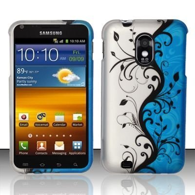 for-samsung-hercules-t989-galaxy-s2-t-mobile-rubberized-blue-vines-design-design-snap-on-protector-c