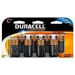 Duracell Coppertop Alkaline Batteries, C, 8 batteries