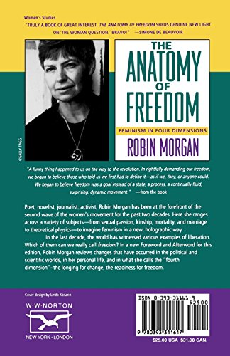Anatomy of Freedom: Feminism in Four Dimensions (Norton Paperback)