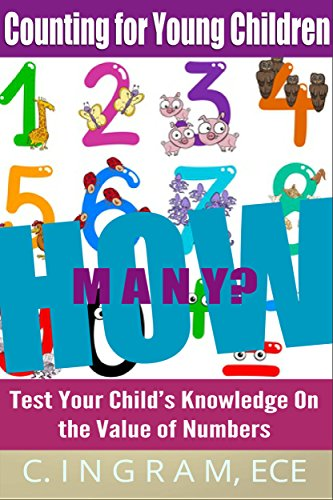 Free Kindle Book : How Many?  Counting for Young Children: Test Your Child