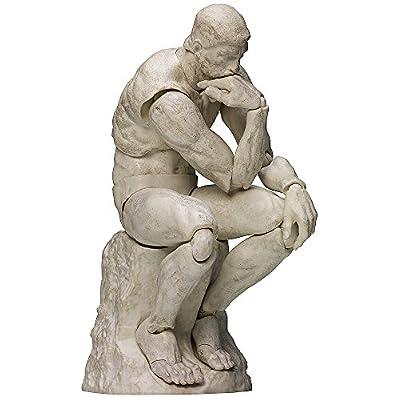 figma テーブル美術館 考える人 石膏Ver. ノンスケール ABS&PVC製 塗装済み可動フィギュア