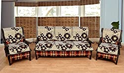 Wow Latest Design Polycotton 5 Seater Sofa Cover