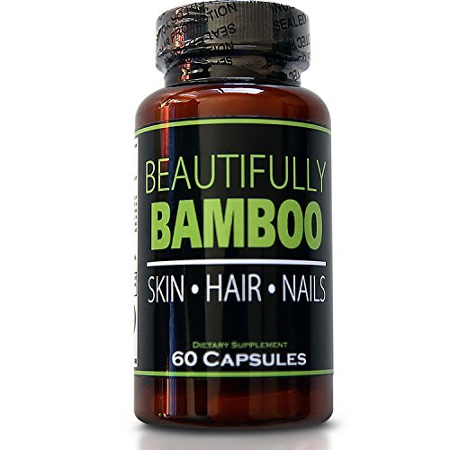 Beautifully+Bamboo Beautifully Bamboo Ultra Vitamin For Skin, Hair, And Nail Growth. Enriched With Biotin, Bamboo Silica, Amino Acids And More